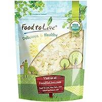 Food to Live Chips de coco Bio certificados (Eco, Ecológico, no GMO, a granel) (6 Onzas)
