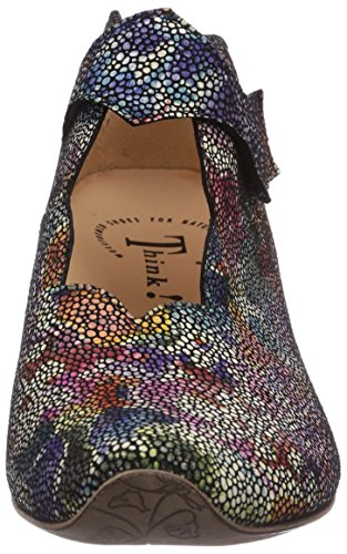 Think Aida 484248, Escarpins femme Multicolore (Sz/Multi 03)