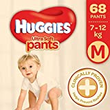 Huggies Ultra Soft Pants Premium M Diapers (68 Pieces)