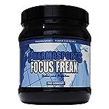 Pre-Workout Booster Fitness Pump und Fokus | Trainings-Booster Shake mit Koffein, Beta-Alanin, Guarana, CarnoSyn,Tyrosin | Focus Freak 2. Supplement Vegan | 360g Pulver