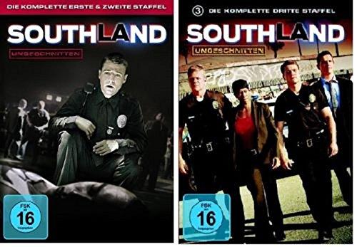 Southland Staffel 1-3 (1+2+3) / DVD Set