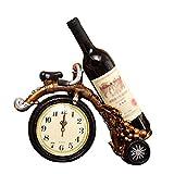 LBYMYB Gabinete De Vino Soporte De Vino Decoraciones para El Hogar Soporte De Vino para Motocicleta 32 X 12 X 25 Cm Estante del Vino