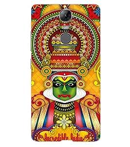 ColourCraft Incredible india Design Back Case Cover for LENOVO K5 NOTE