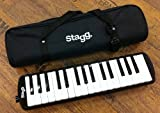 Stagg MELOSTA32BK Melodica 32 touches avec étui Noir