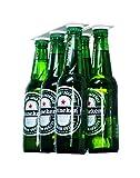 Magenesis Supporto Magnetico per Birra/gruccia per 6Bottiglie, Salva Spazio e organizzare Bottiglie Frigorifero Il Tetto e Griglie AMA Le Bevande Fredde Birra