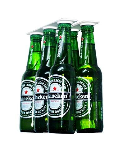 Porte-bière support magnétique pour 6 bières, Économisez...