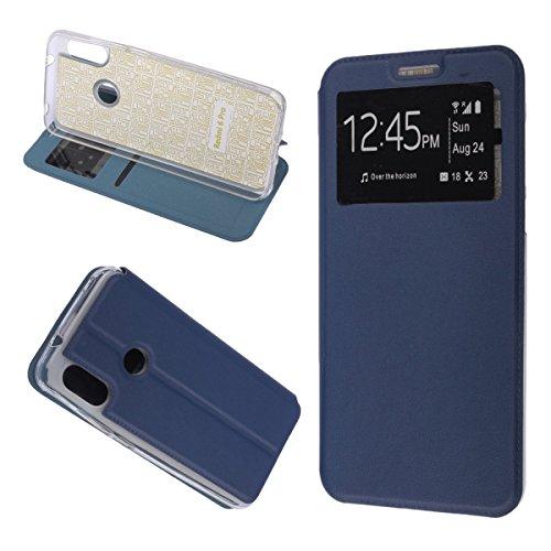 MISEMIYA - Xiaomi Mi A2 Lite Case / Xiaomi Redmi 6 PRO - Kasus Solo, Sport Magnet Cover, Biru