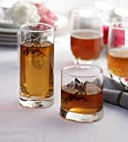 Famacart Tableware Serving Glasses water Wine Whisky Glass Pack of 12 Pcs