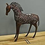 Smart Solar Gartenleuchte Pferd
