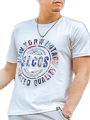 BOMOVO Herren Regular Fit T-Shirt Basic T-Shirt Weiß