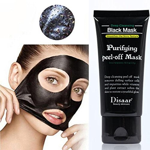 #Rcool Black Mud Deep Cleansing Purifying Peel Off Facail Face Mask#