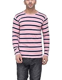 Tinted Men's Cotton Round Neck Full Sleeve T-Shirt