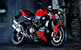 Best Streetfighter Bikes - Athah Designs -street-fighter-bikes-streetfighter-hd-ducati Wall Poster 13*19 inches Matte Review