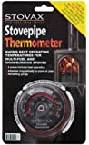 STOVAX STOVE FLUE PIPE THERMOMETER TEMPERATURE GAUGE NEW MODEL