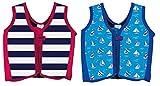 Kinder float Jacke mit Gurt, unter Alter 1–2, 3–4und 5–6Swim Jacke, Freeride Hilfe, gestreift