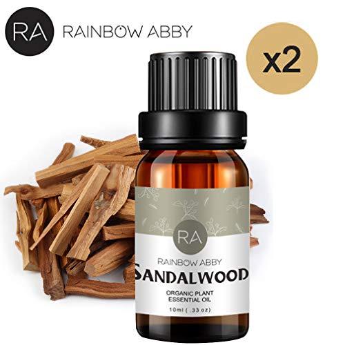 RAINBOW ABBY Sandelholz Öl NaturReines ÄTherische SandelholzÖl 2x10ml Naturrein ÄTherische Öle - öl-diffusor Sandelholz