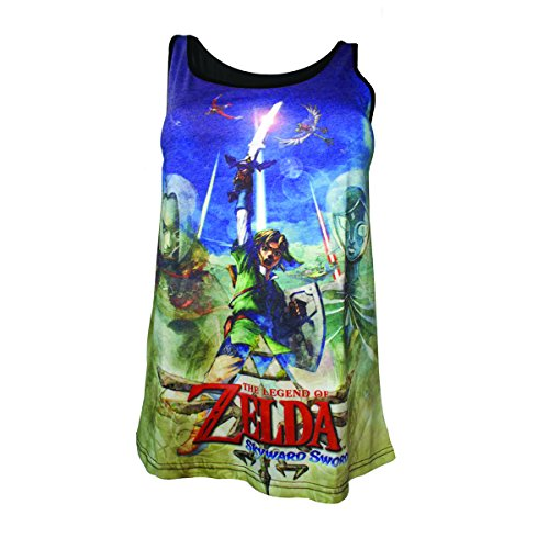 Zelda Skyward Sword Top Donna Multicolore