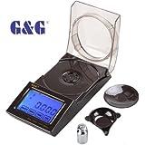 GundG Juwelierwaage FC20, G & G Digitale Präzisionswaage 0,001 g/20 g