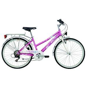 Atala Daisy School Bicicletta per Ragazze, Rosa, 24 Pollici