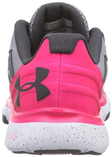 Under Armour Ua W Micro G Limitless Tr, Chaussures de Fitness Femme, Noir/Blanc Grau (STL/HYR/CHC 42)
