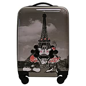 valise cabine taille 55 cm minnie incassable et l g re 4 roues bagages. Black Bedroom Furniture Sets. Home Design Ideas