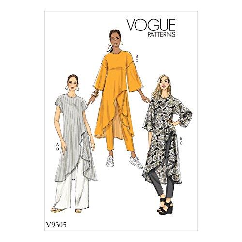 Vogue Hosen (Vogue Mustern 9305Z Damen Hosen und Tunika, Tissue, Mehrfarbig, 15x 0,5x 22cm)