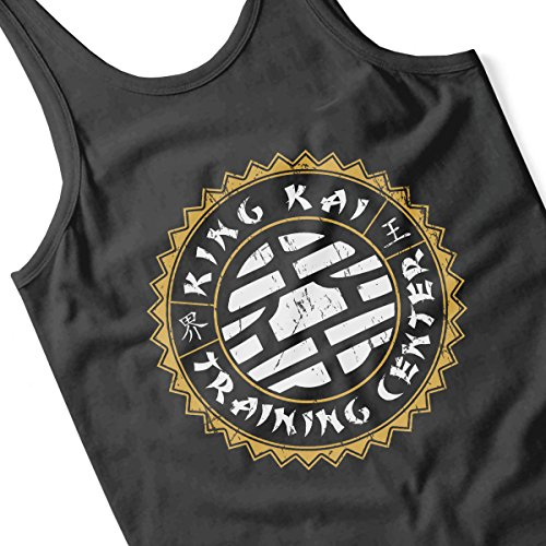 King Kai Training Center Dragon Ball Z Women's Vest Black