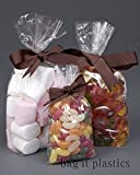 50 Clear Cellophane Sweet / Party / Gift Bags 3\