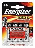 Energizer Batterie Max Alkaline AA (Mignon/LR6 4er-Packung)