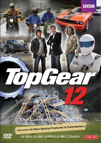 Top Gear: Complete Season 12 (4pc) / (Ws) [DVD] [Region 1] [NTSC] [US Import] (Top Gear-serie 1)