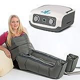 VEIN ANGEL Apparecchio massaggiante per gambe & addome :: massaggio a onde con 4 cuscinetti d'aria per piedi, pancia e vita :: facile da usare e con servizio di assistenza top