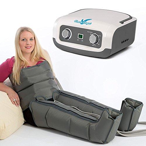 VEIN ANGEL Apparecchio massaggiante per gambe & addome :: massaggio a onde con 4 cuscinetti d'aria...