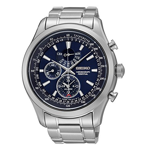 Seiko Analogue Blue Dial Men's Watch Spc125P1