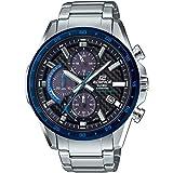 Casio Herren Analog Solar Uhr mit Edelstahl Armband EFS-S540DB-1BUEF