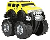 #4: Funny Teddy Unbreakable Hummer Car Toy Set (Small car) | Monster Truck Automobile Monster Truck | Birthday Gift (Yellow)