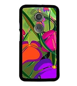 Colourful Flowers 2D Hard Polycarbonate Designer Back Case Cover for Motorola Moto X2 :: Motorola Moto X (2nd Gen) :: Motorola Moto X 2014 :: Motorola Moto X+1