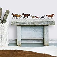 RoomMates Repositionable Childrens Wall Stickers - Wild Horse