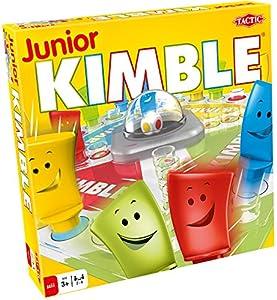 Tactic Junior Kimble Niños y Adultos Juego de Mesa de Carreras - Juego de Tablero (Juego de Mesa de Carreras, Niños y Adultos, 10 min, Niño/niña, 3 año(s), 99 año(s))