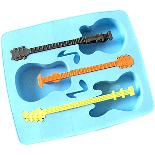 ürfelschale DIY Eis am Stiel Eiscreme-Form (Blau) (Gesunde Halloween-leckereien)