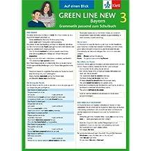 Green Line New Bayern 3 - Auf einen Blick: Grammatik passend zum Schulbuch - Klappkarte (6 Seiten)