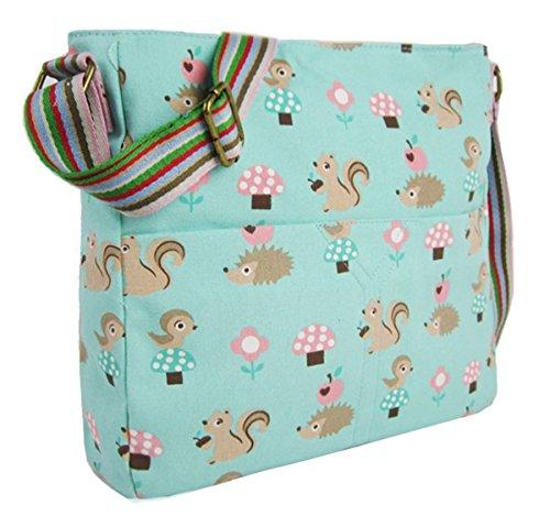 kukubird-winsome-critters-crossbody-design-tote-top-handle-shoulder-bag-handbag-turquoise