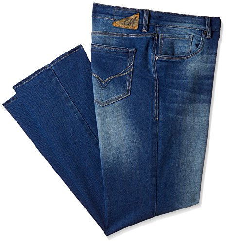 Flying Machine Men's Django Straight Fit Jeans