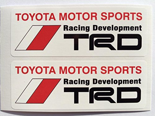 SBD Decals 2 Toyota TRD Motor Sports Racing Development Gestempelschnitten Abziehbilder - Toyota Trd Decals