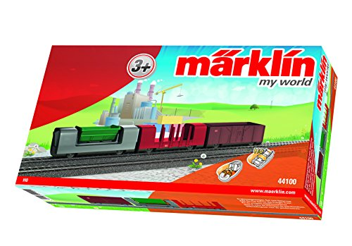 51YrajqHPbL - Märklin my world 44100 - Güterwagen-Set mit 3 verschiedenen Güterwagen, Spur H0