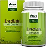 Livactivate Liver Cleanse with Curcumin & Dandelion | All Vegan Liver Detox Capsules
