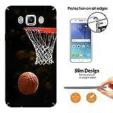 001233 - Cool Fun Trendy Basketball Sports Fun Score Design