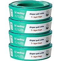 Ricarica Compatibile per Mangiapannolini Maialino Foppapedretti & Angelcare & Smaltimento Lettiera Litter Locker II