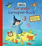 Max-Bilderbücher: Mein Freund Max - Das große Lernspiel-Buch: Zauberleicht Buchstaben, Zahlen, Formen und Farben lernen