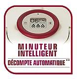 Seb Clipso P4411406 Pressure Cooker Programmierbarer Timer Genauigkeit Öffnungs Effort ohne Griffe Faltbare Edelstahl 8 L - 8