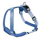 HUNTER Hundegeschirr Neopren, Größe M, blau